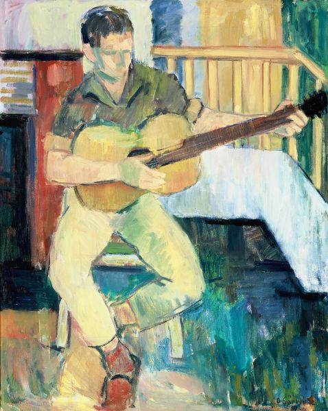 Oskar Sørreime - Gutt med gitar